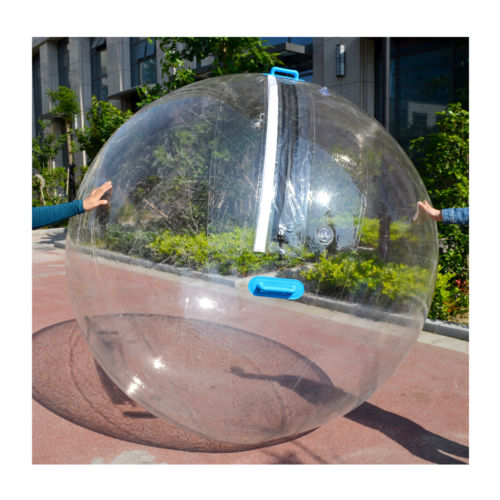 Clear water walking ball with PVC 0.8mm material for sale