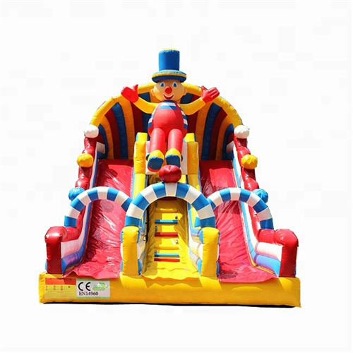 New design bounce house with slide with EN14960 certification for sale