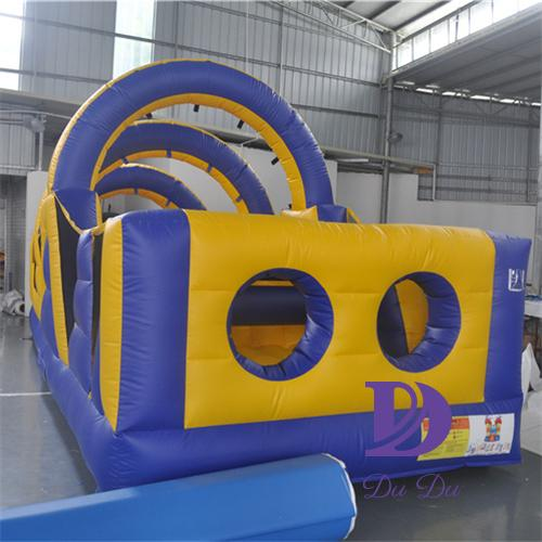 New design inflatable obstacles with EN 14960 certification for sale