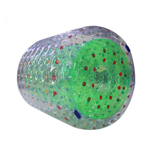 Manufacture cheap price inflatable rolling ball with free pump for sale