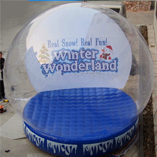 New design inflatable snow globe for sale