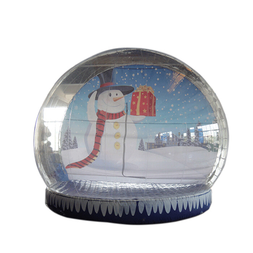 Hot sale inflatable snow globes with free CE blower