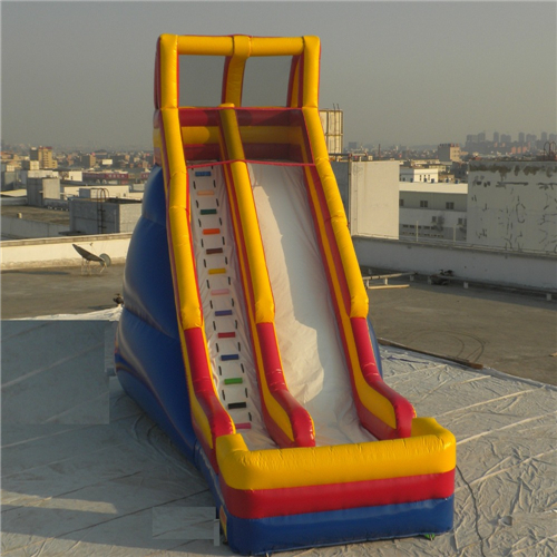 Colorful design commercial inflatable slide for sale