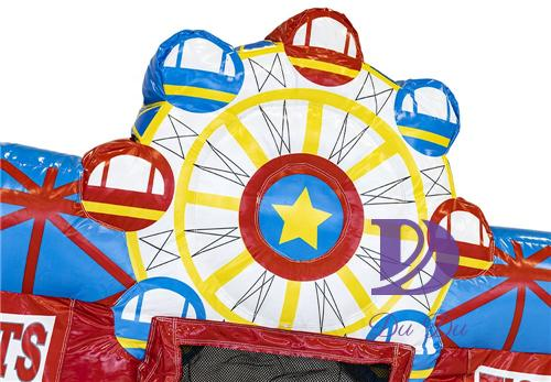 New design ferris wheel bouncy with full certification for sale