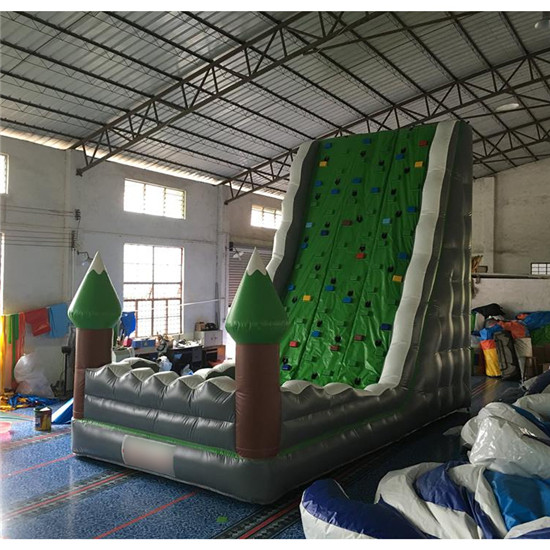 New design inflatable climbing wall for sale