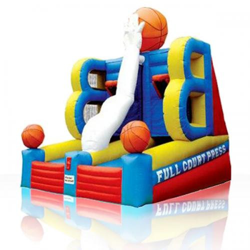 Outdoor Sport Double Hoop Inflatable Basketball Game for sale
